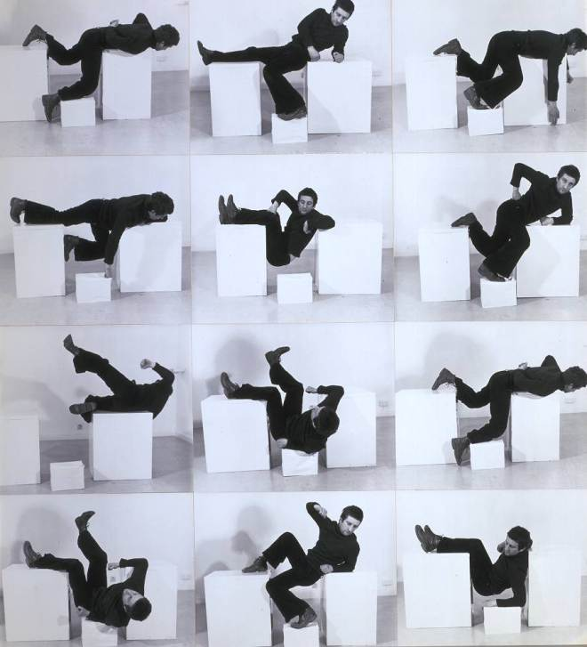 Pose Work for Plinths 3 1971 Bruce McLean born 1944 Purchased 1981 http://www.tate.org.uk/art/work/T03274